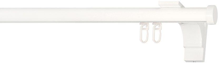 Gardinenstange, Indeko, »Consul«, nach Maß, ø 20 mm in weiss