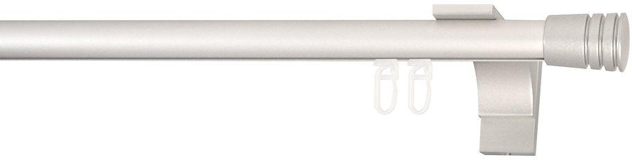 Gardinenstange, Indeko, »Verus«, nach Maß, ø 20 mm in silberfarben