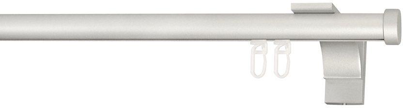 Gardinenstange, Indeko, »Consul«, nach Maß, ø 20 mm in silberfarben