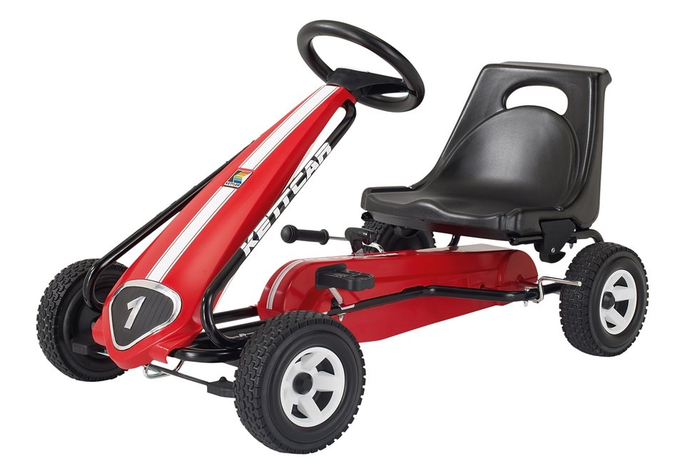 Kettler® Kettcar »Melbourne«, Made in Germany in rot