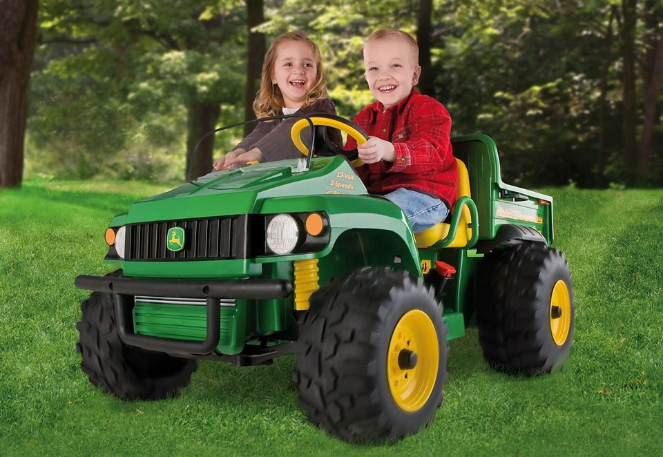 Peg-Pérego Elektrofahrzeug für Kinder Geländewagen Zweisitzer »John Deere Gator HPX - 12 Volt«