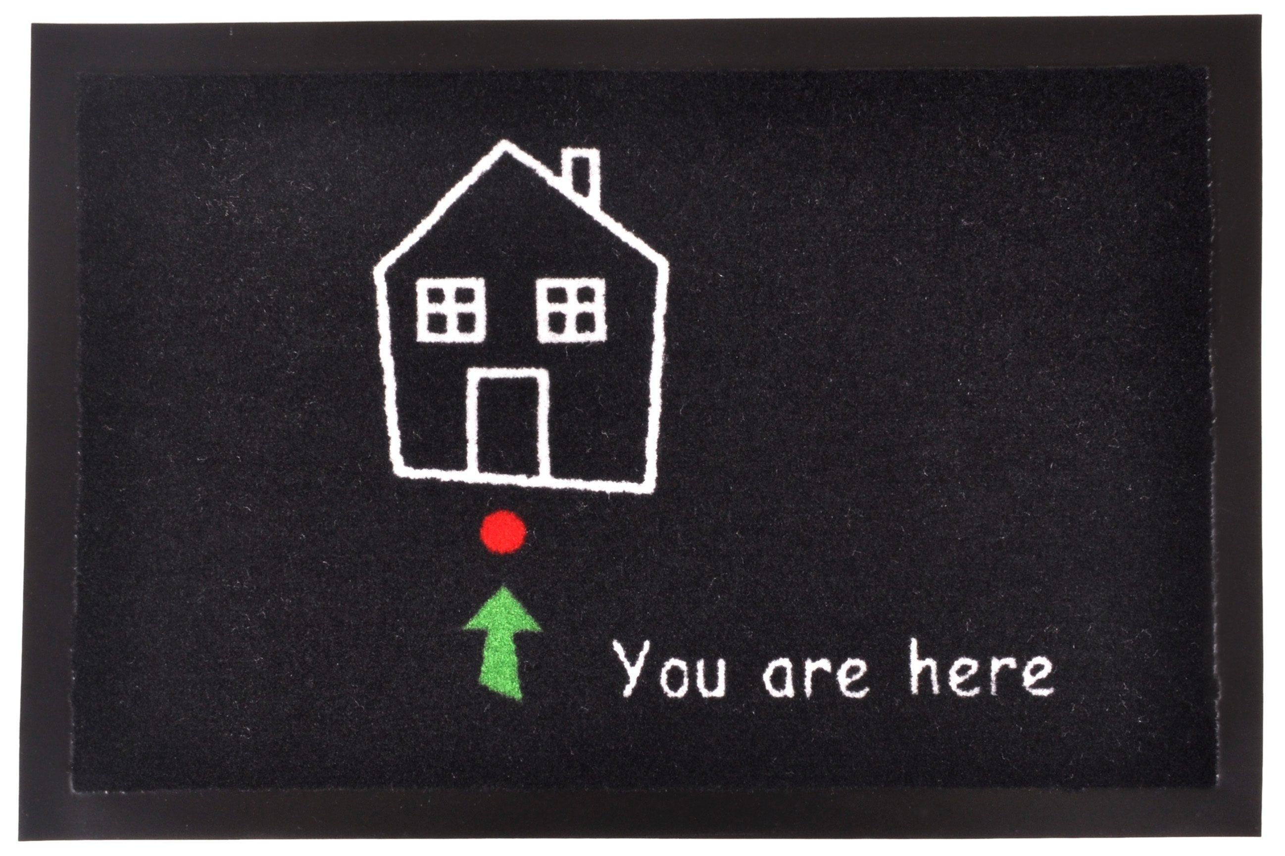 Fußmatte »Standort«, HANSE Home, rechteckig, Höhe 7 mm, rechteckig