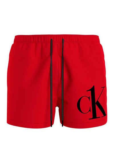 Calvin Klein Badeshorts, mit CK Schriftzug auf dem Bein
