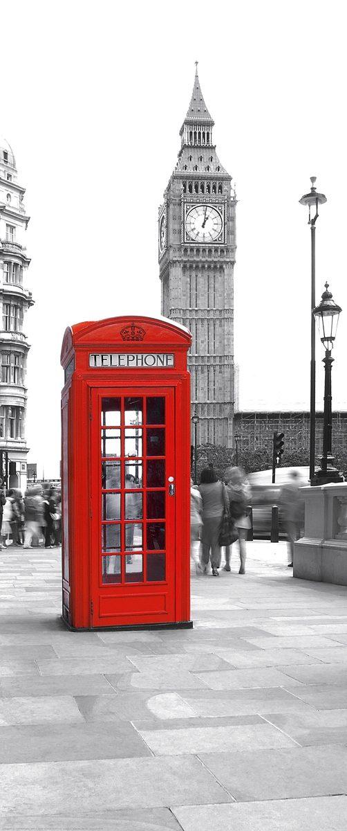 """Türposter, EUROGRAPHICS, """"Calling Big Ben"""", 92/202 cm"""