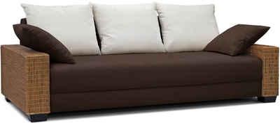 Rattan ecksofa mit schlaffunktion  Rattan-Sofa kaufen » Rattan-Couch & Polyrattan Sofa | OTTO