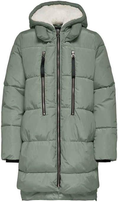 Only Steppmantel »ONLNORA LONG PUFFER COAT« mit Kapuze