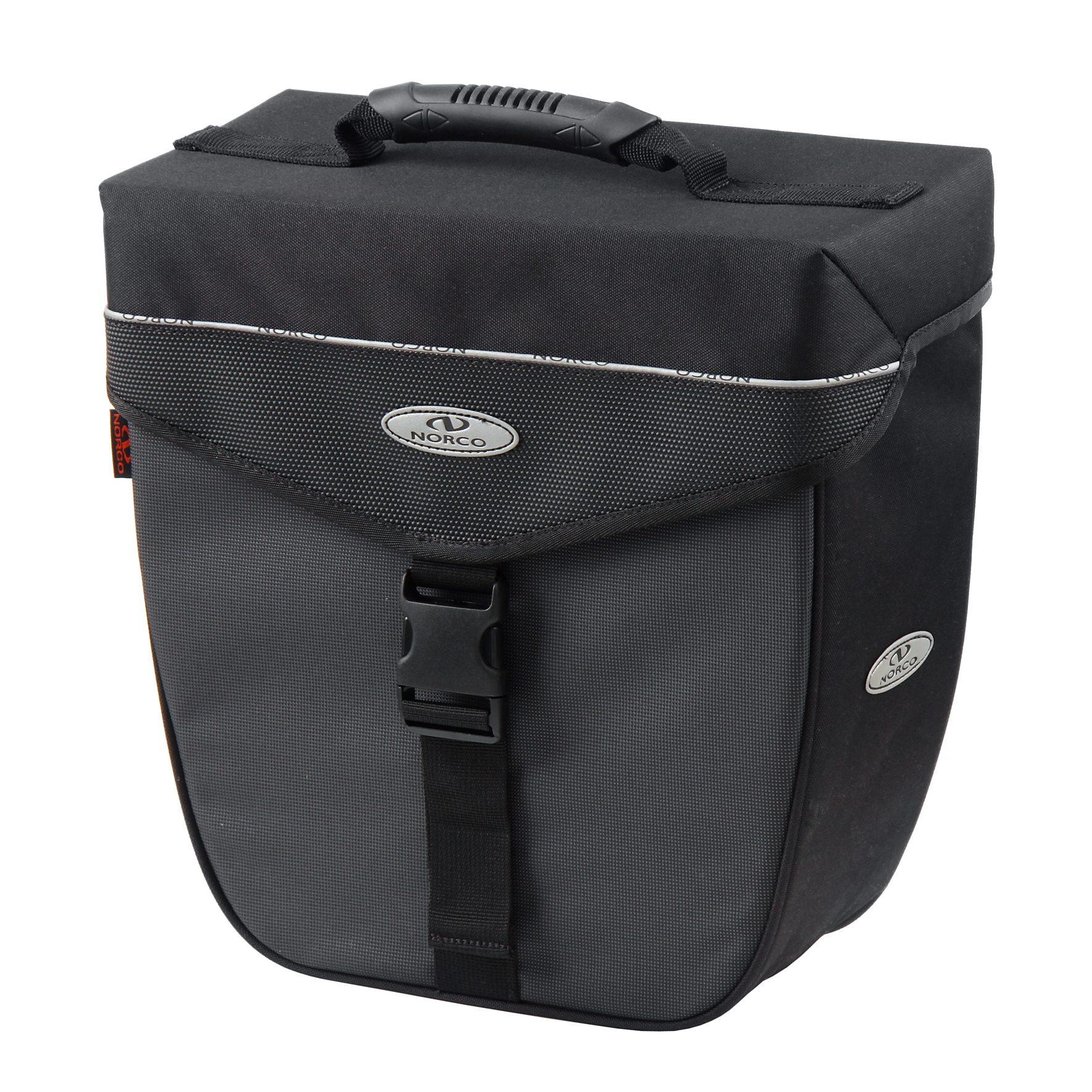 Norco Gepäckträgertasche »Orlando City-Case schwarz/grau«