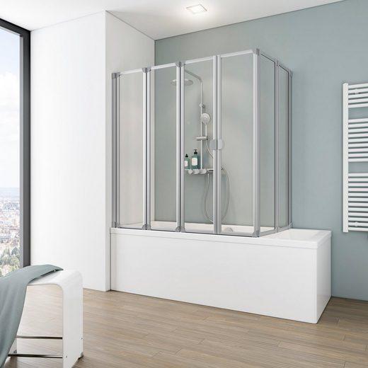SCHULTE Badewannenaufsatz 6-tlg., flexibel einsetzbar