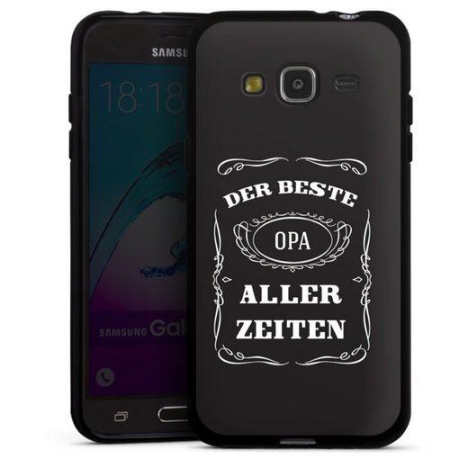DeinDesign Handyhülle »Bester Opa« Samsung Galaxy J3 (2016), Hülle Familie Opa Sprüche