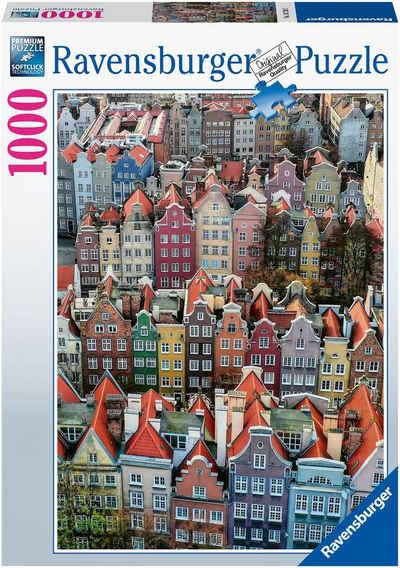 Ravensburger Puzzle »Danzig in Polen«, 1000 Puzzleteile, FSC® - schützt Wald - weltweit; Made in Germany