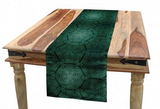Abakuhaus Tischläufer »Esszimmer Küche Rechteckiger Dekorativer Tischläufer«, Barock- Dunkle Monochrome Muster