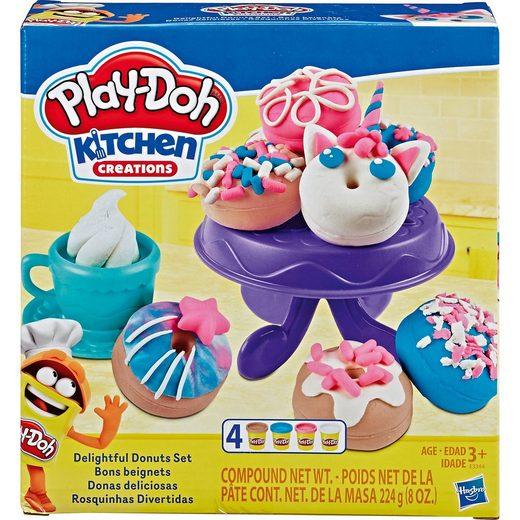 Hasbro Play-Doh Bunte Donuts