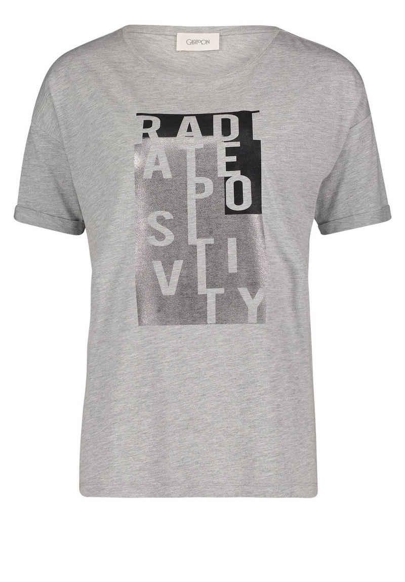 Cartoon T-Shirt »mit Placement« Foliendruck