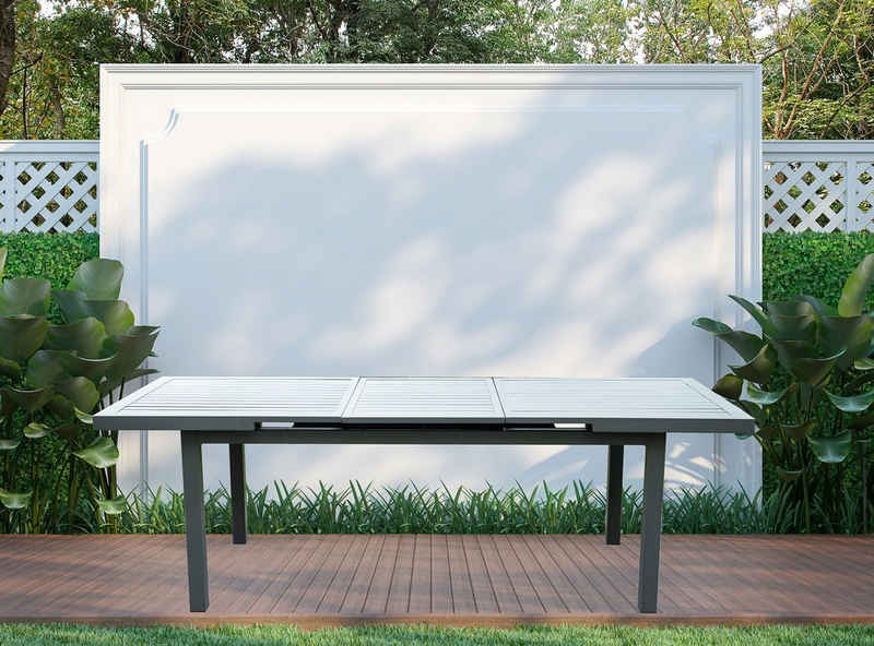 HOME DELUXE Gartentisch »Calido«, ca. 180(240) x 97,5 x 76,5 cm - inkl. Zubehör, ausziehbar