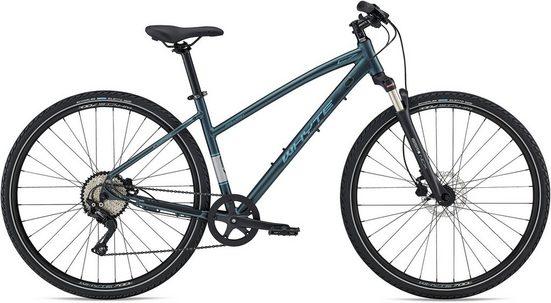Whyte Bikes Fitnessbike »Malvern Women's V1«, 10 Gang Shimano Deore Schaltwerk, Kettenschaltung