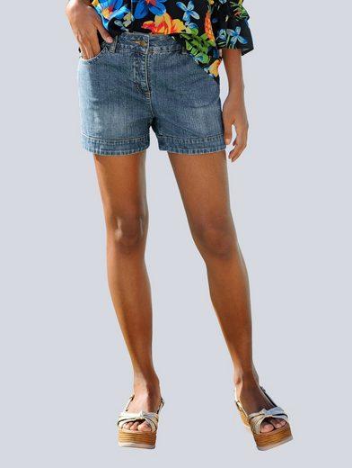 Alba Moda Jeans-Shorts im Freizeit-Look