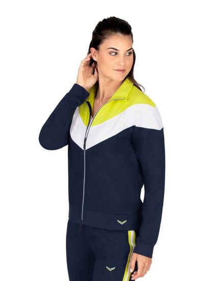 Trigema Trainingsjacke in drei schicken Farben