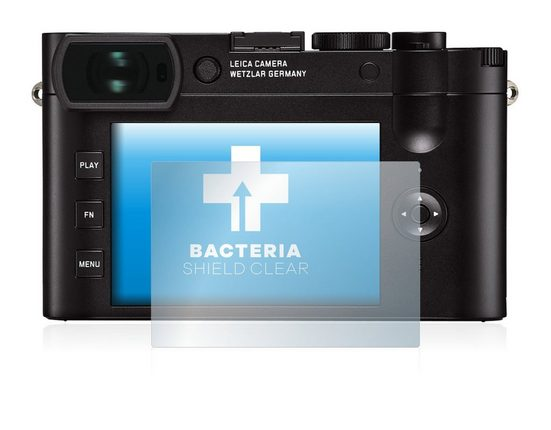 upscreen Schutzfolie »für Leica Q2«, Folie Schutzfolie klar antibakteriell