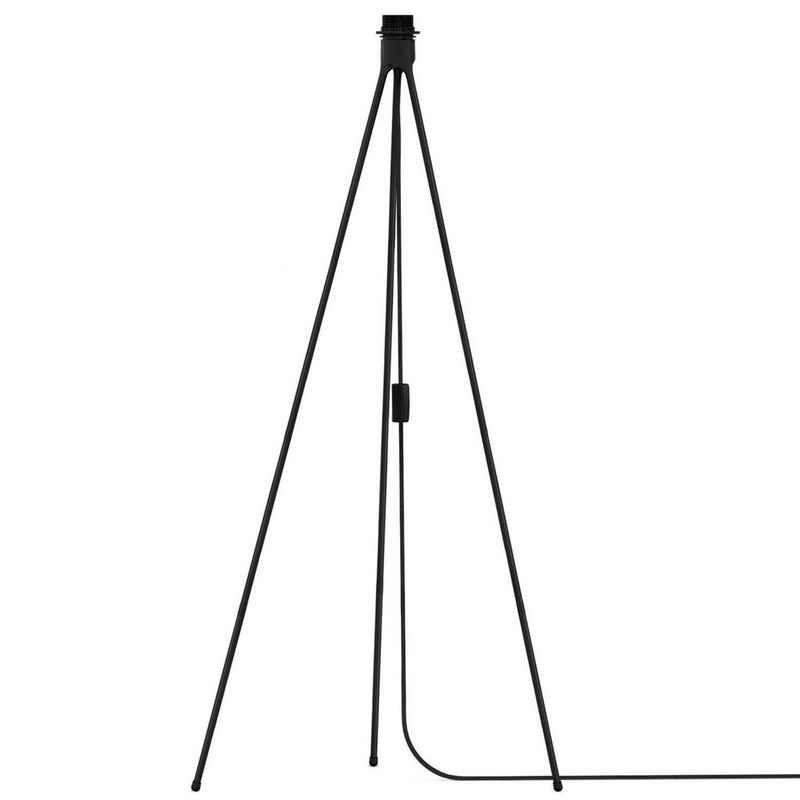 Umage Deckenleuchte »Umage / VITA Tripod Floor Dreibein-Stativ mit Textilkabel E27 schwarz 66 x 66 x 109 cm für A++ bis E Lampe«