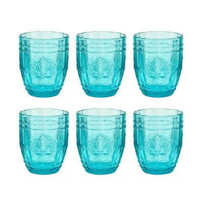 BUTLERS Glas »VICTORIAN 6x Trinkglas 250 ml«, Glas