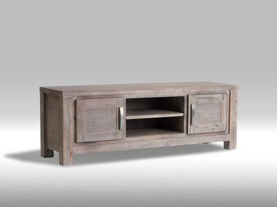 ebuy24 TV-Bank »Alana TV- Tisch mit 2 Türen und einem Einlegeboden«
