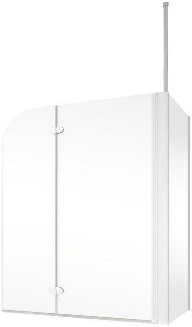 Badewannen und Whirlpools - Schulte Badewannenfaltwand »YOUNGLINE«, (3 tlg), teilgerahmt, BxTxH 114,6 x 70 x 140 cm  - Onlineshop OTTO