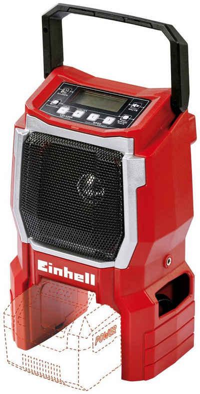 Einhell »TE-CR 18 Li - Solo« Baustellenradio (FM-Tuner, Power X-Change, ohne Akku und Ladegerät, inkl. Kabel)