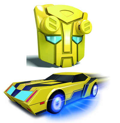 Dickie Toys RC-Auto »Transformers Bumblebee Turbo Racer« (2-tlg), LED Beleuchtet, 2,4Ghz Turbo-Funktion
