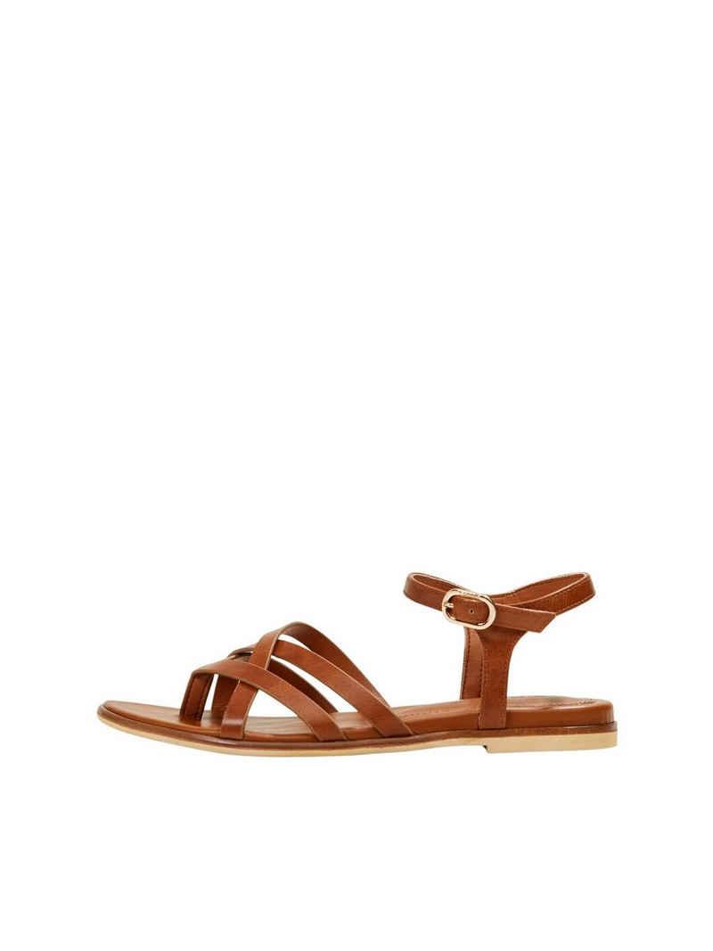 Esprit »Vegan: Riemchen-Sandalette in Lederoptik« Sandalette