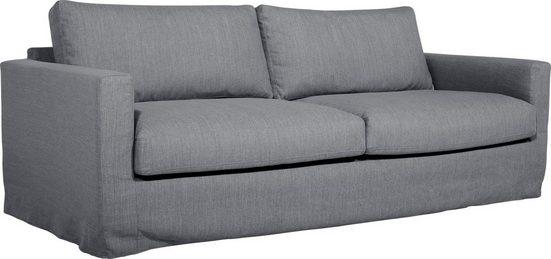 andas 3-Sitzer »Ingo«, schön weich und kuschlig,mit Wellenunterfederung