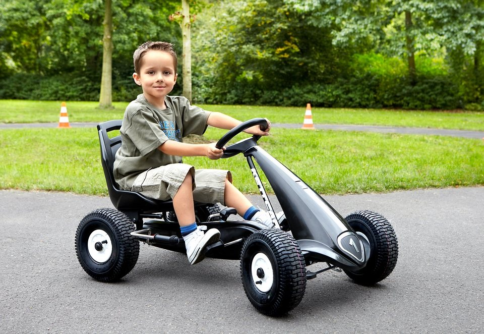 Kettler® Kettcar »Daytona Air«, Made in Germany in schwarz