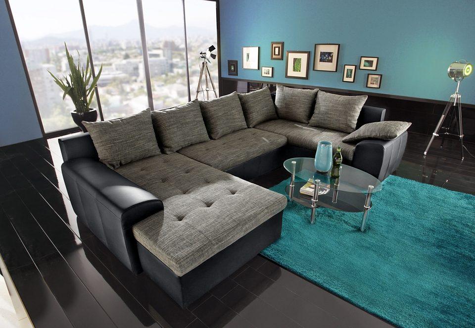 Grau wohnzimmer idee for Hellgraue wohnlandschaft