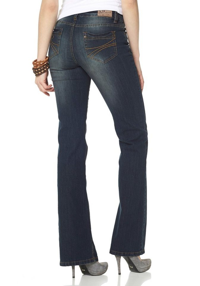 AJC Bootcutjeans »5-Pocket-Design« in Blue-Used