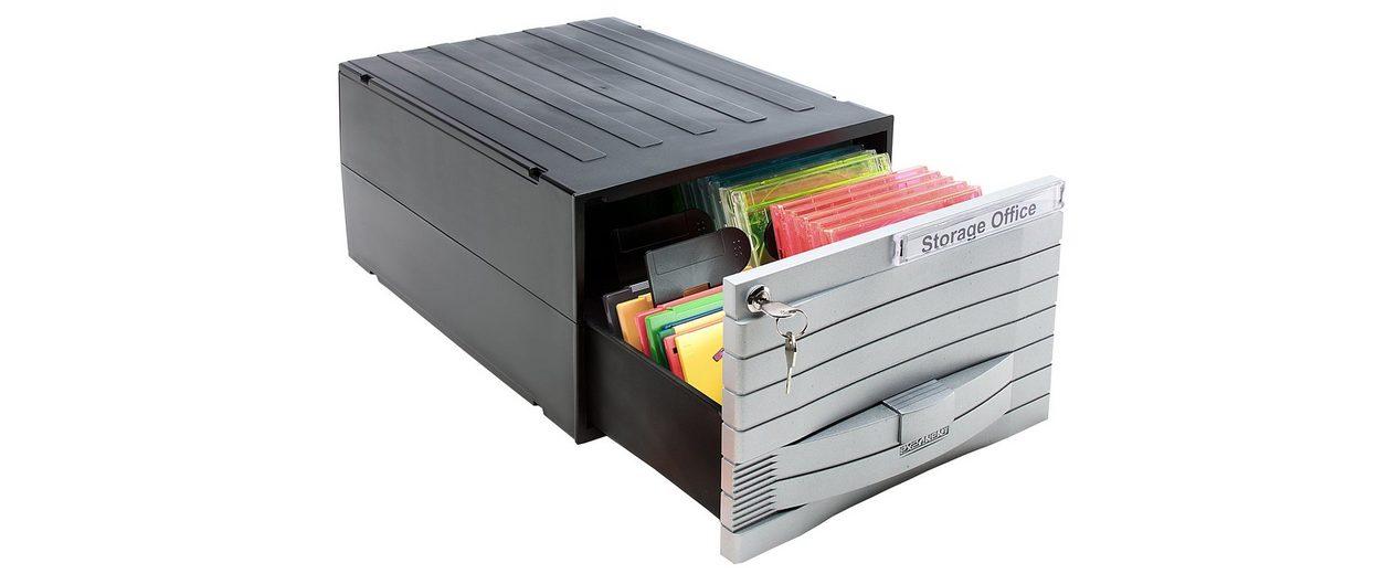 EXPONENT Schubladenbox »Media Solution 48 96 CDs«