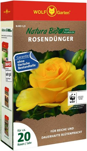 WOLF-Garten Pflanzendünger »Natura-Bio N-RO 1,9«, Granulat, 1,9 kg