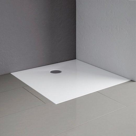 Schulte Duschwanne »Schulte-plan«, quadratisch, Mineralguss, 120 x 120 cm