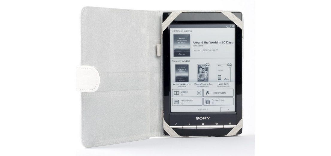 ODYSSEY Schutzhülle »für Sony PRS-T1 Weiss«