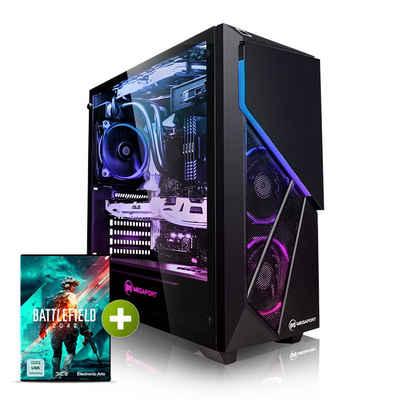 Megaport Gaming-PC (Intel Intel Core i9-11900F, GeForce RTX 3080 10GB, 32 GB RAM, 2000 GB SSD, Windows 10)