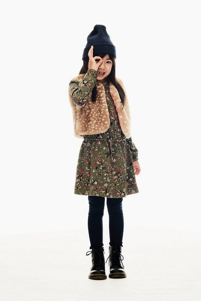 garcia -  A-Linien-Kleid mit allover Print