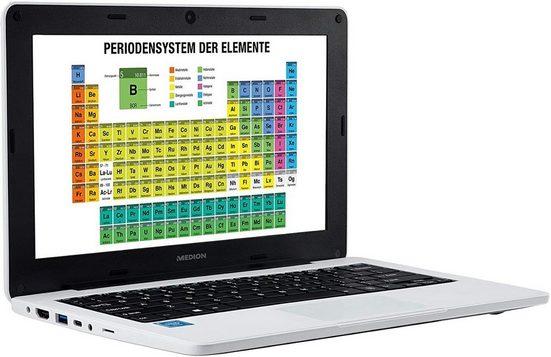 Medion® Medion Akoya E11202 (MD63670) 29,46 cm (11,6 Zoll) Notebook (Intel Intel Celeron N3450, Intel HD Graphics, 64 GB HDD)