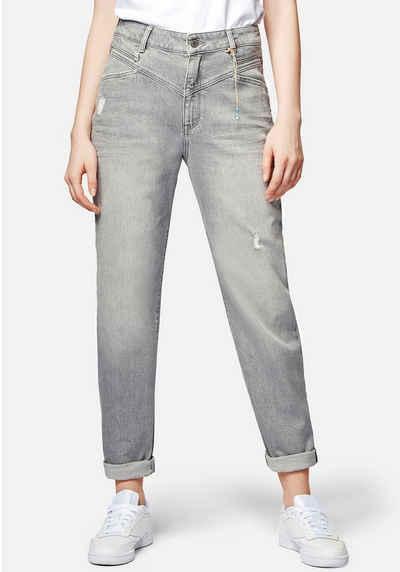 Mavi Mom-Jeans »STELLA-MA« Baumwollstretch Denim für hohen Tragekomfort