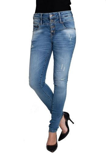 Coccara Slim-fit-Jeans »Carrie«