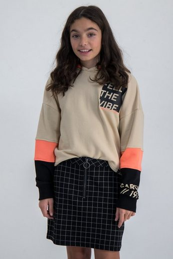Garcia Kapuzensweatshirt mit Color-Blocking-Effekt