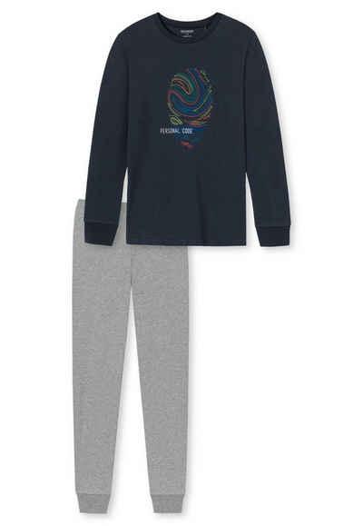 Schiesser Pyjama »Jungen Schlafanzug Set 2-tlg. - lang, Kinder,«