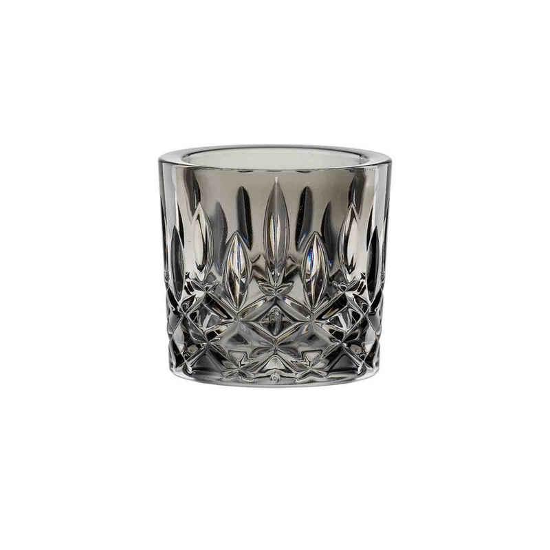 Nachtmann Kerzenhalter »Noblesse Teelichthalter smoke grau« (1 Stück)
