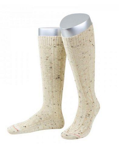 Almbock Trachtensocken »Trachten Socken lang Merino Schurwolle« (1-Paar) natur meliert