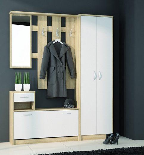 Feldmann-Wohnen Garderobe »IZA«, Breite: 155 cm