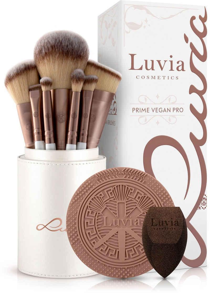 Luvia Cosmetics Kosmetikpinsel-Set »Prime Vegan Pro«, 15 tlg.