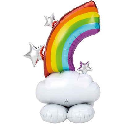 Amscan Folienballon »Folienballon AirLoonz Regenbogen 127 cm«