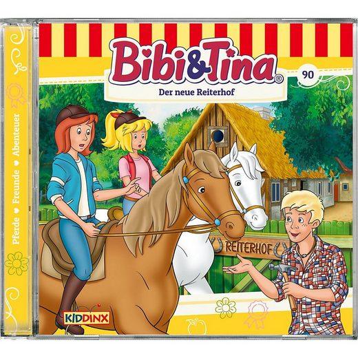 Kiddinx Hörspiel »CD Bibi & Tina 90 - Der neue Reiterhof«